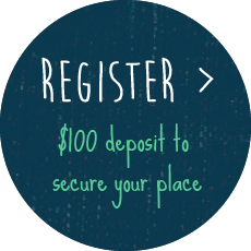 Register now, $100 to secure your place